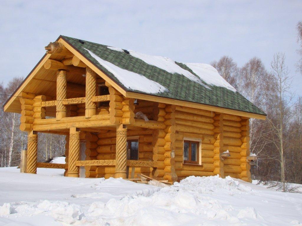 ЛесМаркет Деревянные дома из кедра. Handlaft