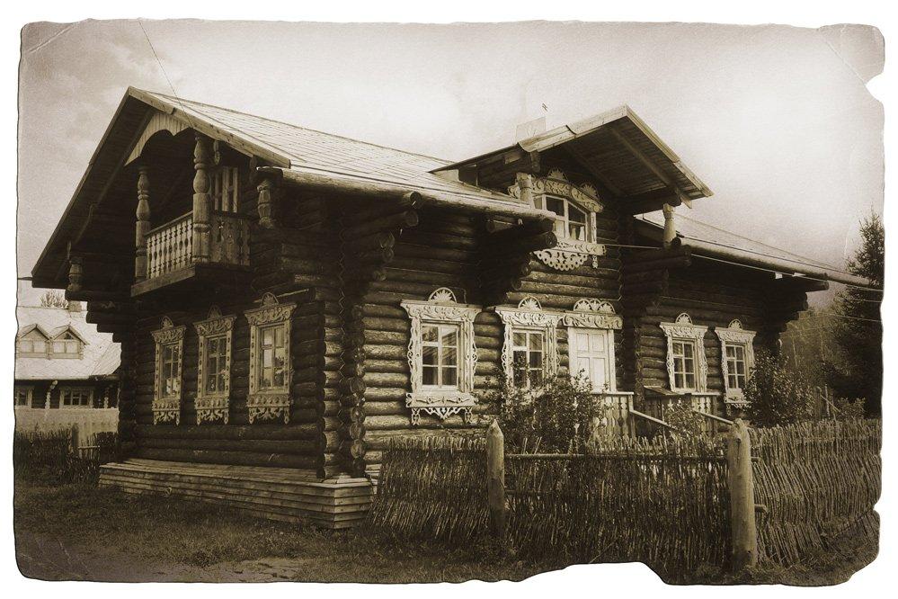 Старинный дом в Липецке