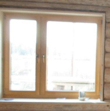 Неправильная остекление окна