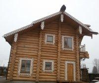 дом с кедра строганый