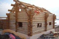 Норвежский деревянный дом из лафета Handlaft. Материал - сибирский кедр
