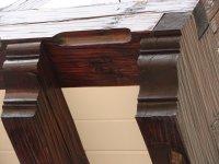 Резная консоль балкона