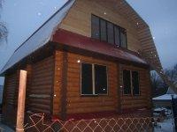 Дом рубленный 7х11