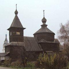 Деревянные рубленые церкви