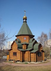 Церковь Антония и Феодосия Печерских в Бибирево. Москва