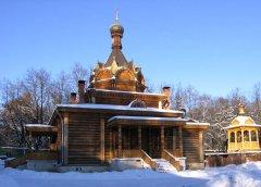 Церковь Тихона Задонского в Сокольниках. Москва