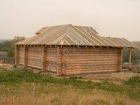 Сруб дома по проекту Судейкина начала XX века