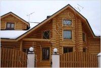 Фотографии готовых деревянных домов