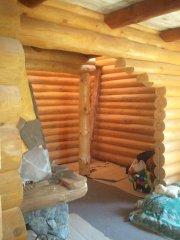Арка в деревянном доме