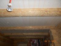 потолки в бане