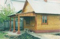 Готовый деревянный дом