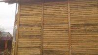 Девятиметровая стена брусового дома 6 на 9