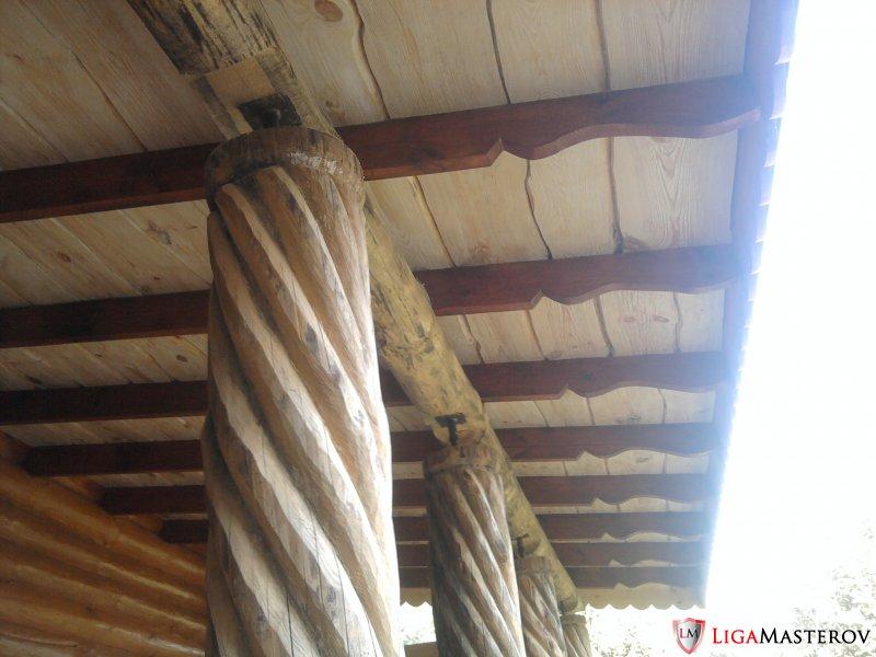 Как сделать потолок на веранде фото 786